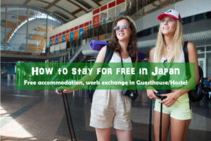 How to stay in Japan for free